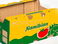 Corrugated packaging product – Namibian [photo]